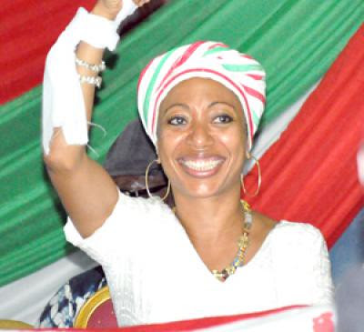 Samia Nkrumah, the daughter of Pan-African revolutionary Dr. Kwame Nkrumah, recently took over control of her father's now unbanned political organization, the Convention People's Party (CPP). Samia is attempting to re-build the party in Ghana. by Pan-African News Wire File Photos