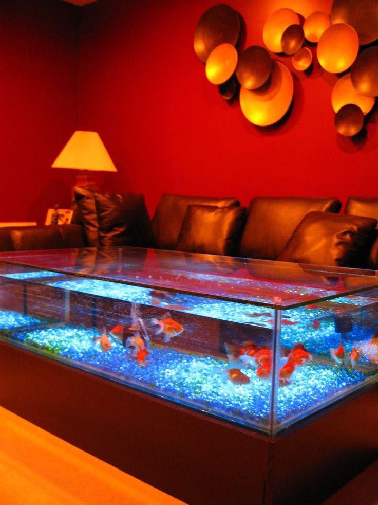 Midwest Tropical Square Coffee Table Aquarium Aquarium Design Ideas