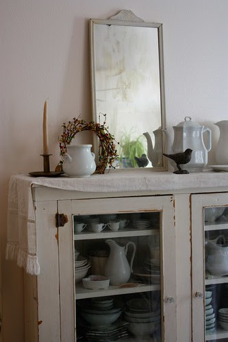 China Cabinet in Autumn