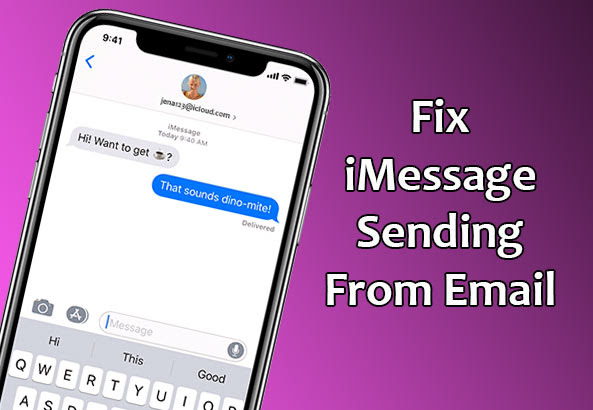 Fix iMessage sending from Email Address instead of Phone ...