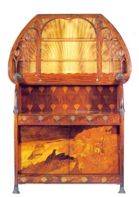 Designer saves the art nouveau mobiliario credenza de for J g mobiliario