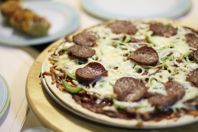 Wholemeal Pizza Base