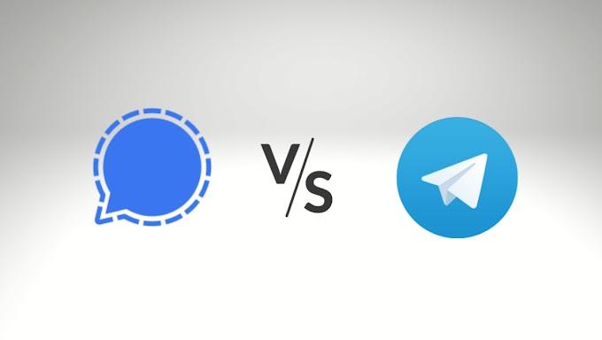 Fugindo do Whatsapp: Signal Vs Telegram: Qual é a melhor alternativa em 2021