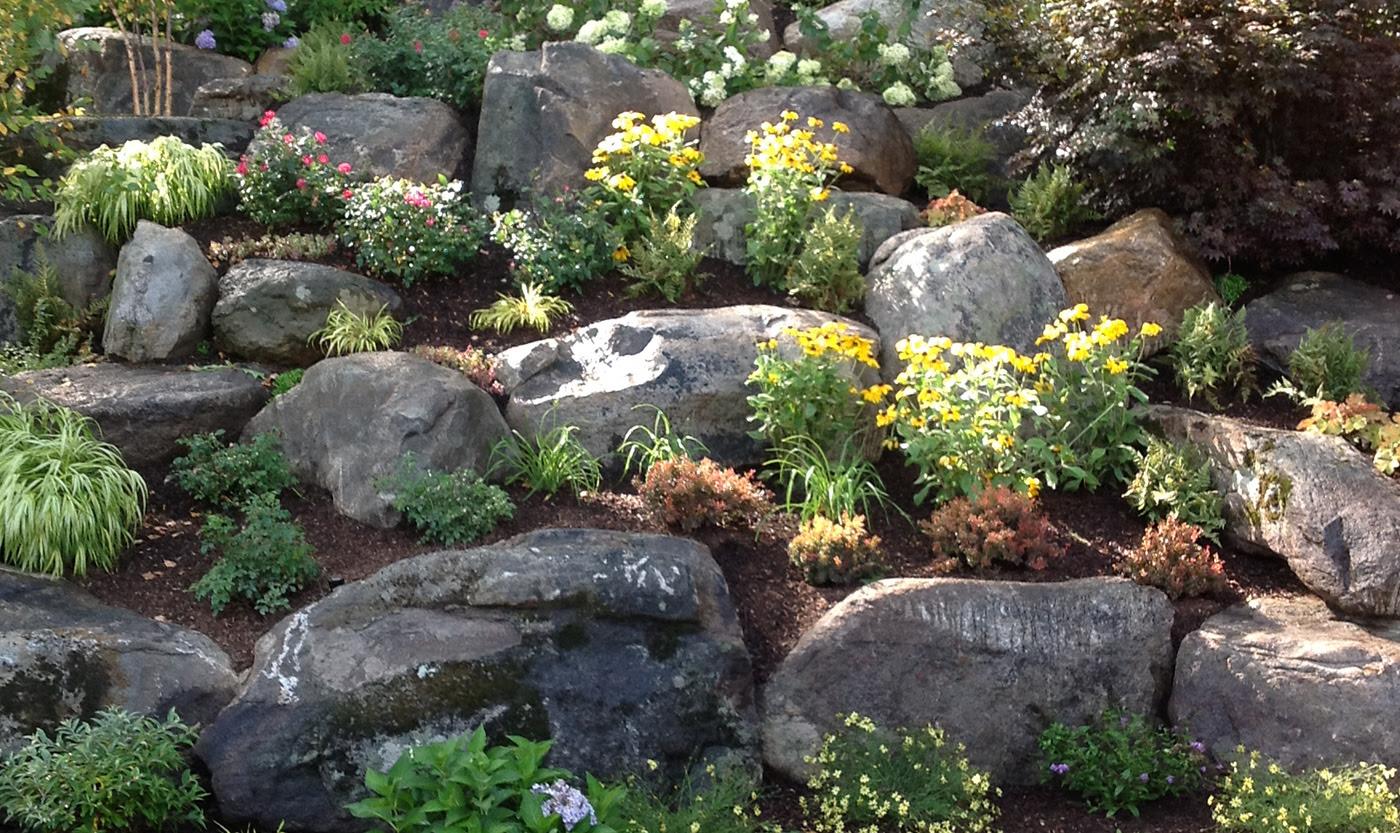 rock garden boulders 1400x833