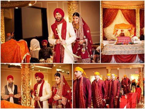 Meaning of the 4 Pheras in a Sikh Wedding Ceremony   WedAbout