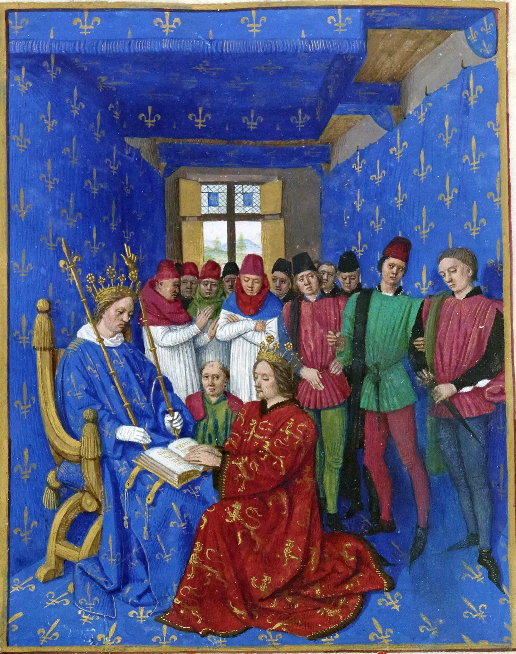 Archivo: Hommage d Édouard Ier à Philippe le Bel.jpg