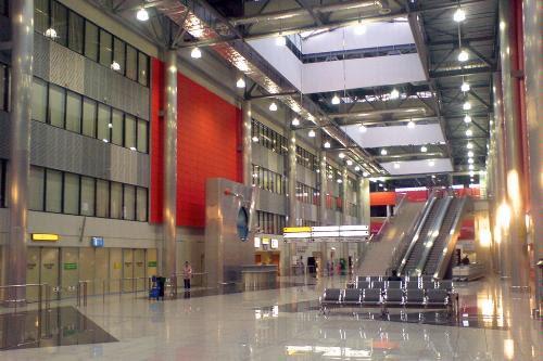 Terminal C in Sheremetyevo International Airport in Moscow.