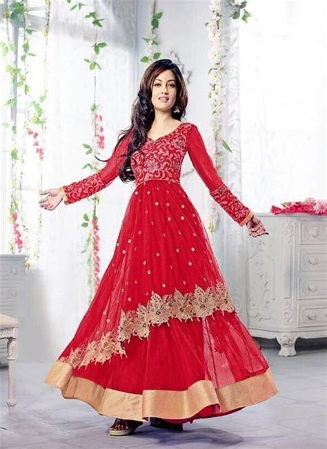 20 Beautiful Designer Anarkali Suits   SheIdeas