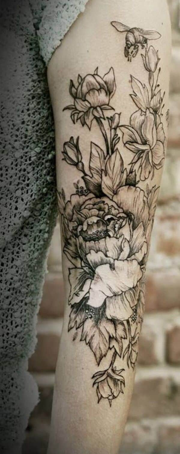Flower Tattoos For Men Ideas And Inspiration For Guys