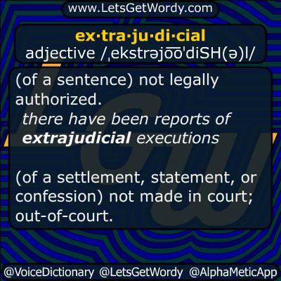 extrajudicial 09/06/2016 GFX Definition