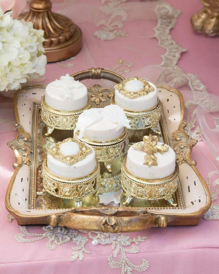 Wedding Theme Pink And Gold Baptism Party Ideas 2394336 Weddbook
