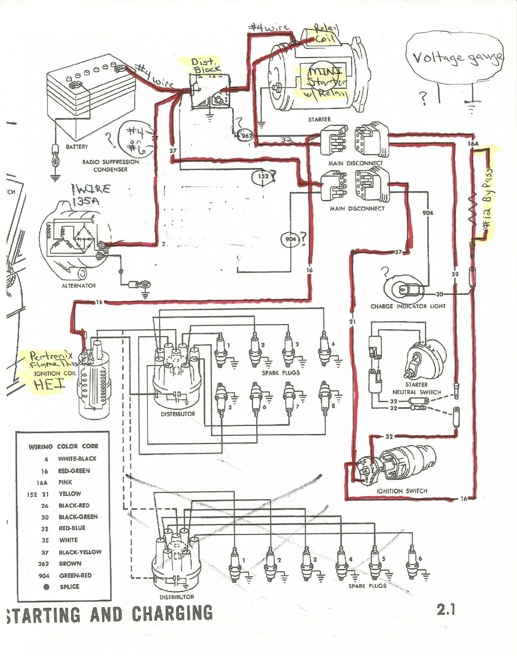 1965 Ford Wiring Diagram