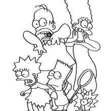Dibujos Para Colorear Bart Director De Cine Eshellokidscom