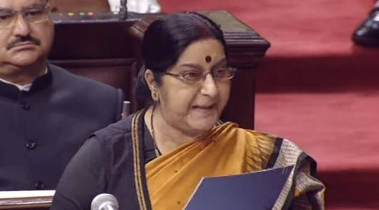 India reaches out to Nepal, Sushma Swaraj meets 'pro-China' Oli today