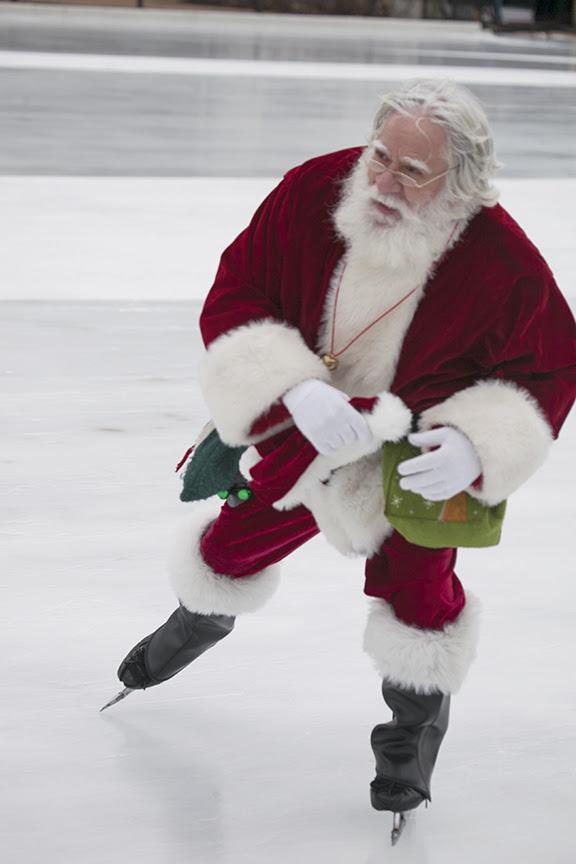 Skating With Santa 1
