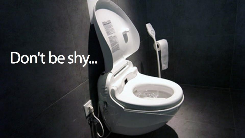 Resultado de imagem para high-tech toilet japan