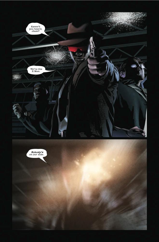series has made an auspicious debut: Its first iteration, X-Men Noir No.