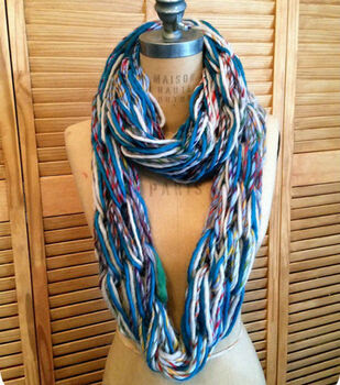 Arm Knit Eternity Scarf