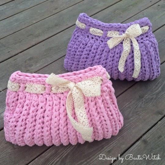 Patrones crochet manualidades y reciclado bolso para for Manualidades de ganchillo bolsos