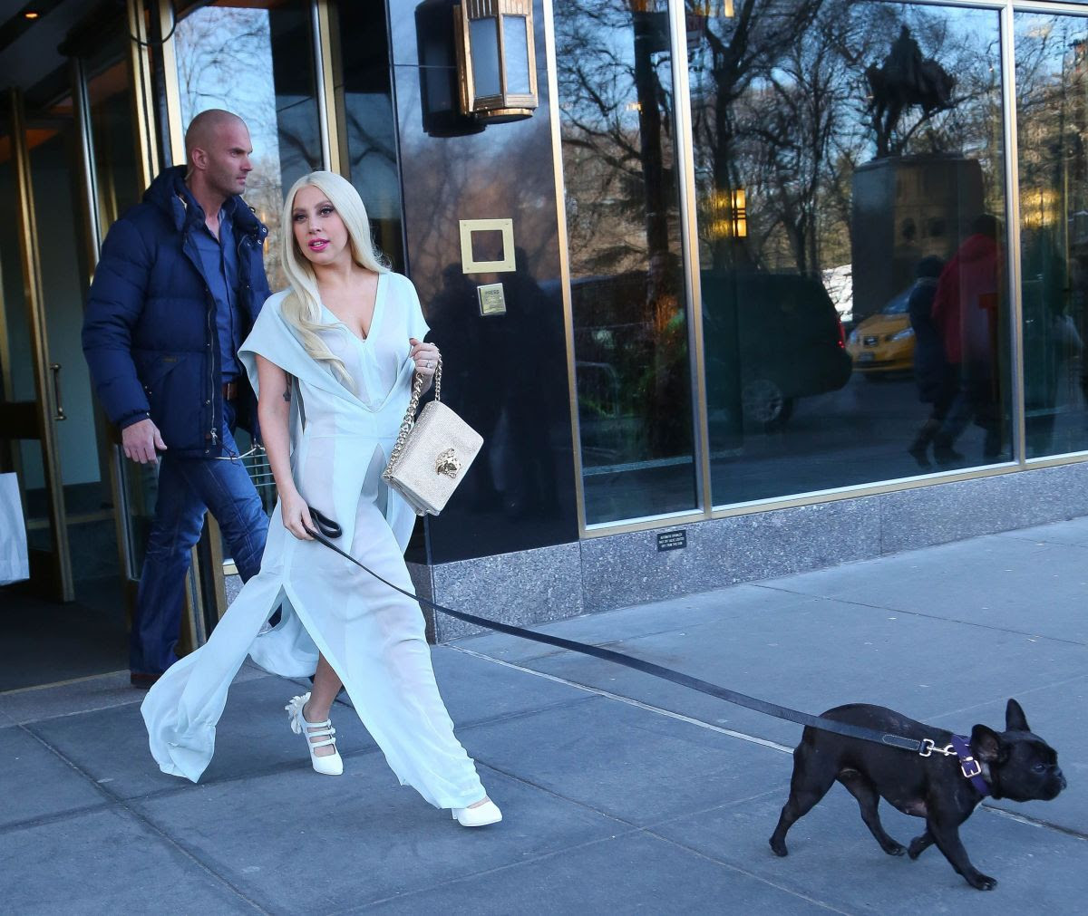 LADY GAGA Leaves Her Hotel in New York 2802