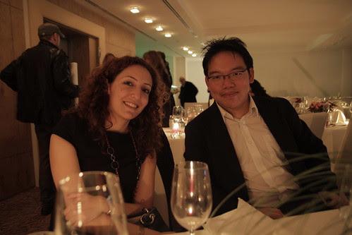With filmmaker Sarah Farhat