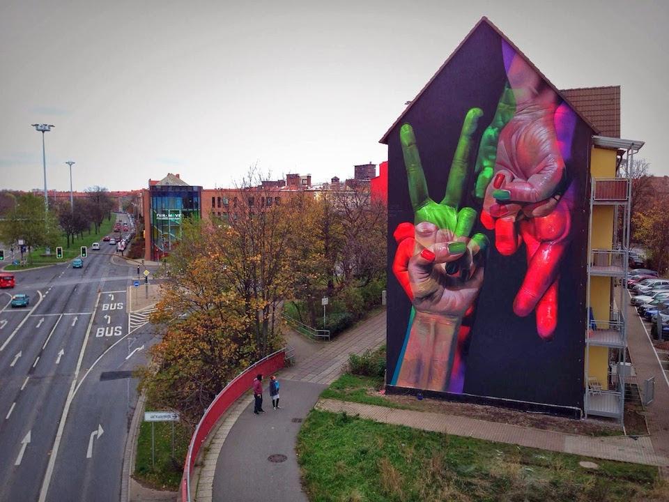 Street Art by Case in Erfurt, Germany 35365