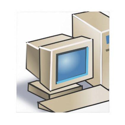 Retro Computer Notepad