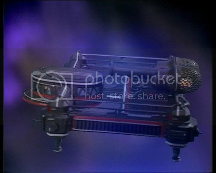 spaceship in hyperspace