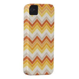 Autumn {chevron pattern} case-mate iphone 4 cases