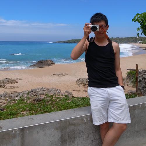 陽光、沙灘、海岸、Me!!哈哈哈哈