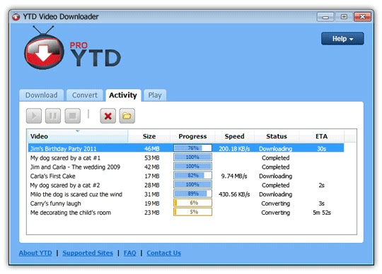 YouTube Downloader Pro YTD 4.8.1.0 Direct Link Download