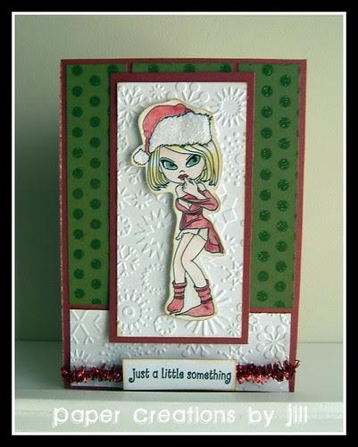 Tinsel Card