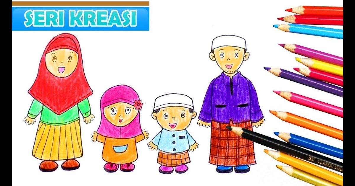 Gudang Gambar Kartun Keluarga Inti Phontekno