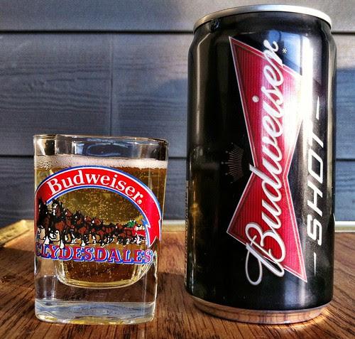 Skunkworths' Barleyslime: Budweiser Shot by Cody La Bière