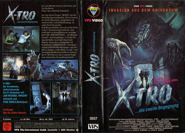 X-Tro 3 (VHS Box Art)