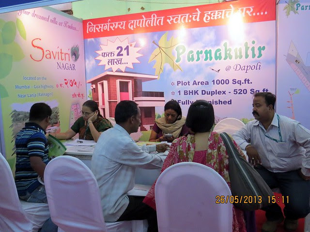 Parnakutir 1 BHK Bungalow Dapoli - Visit Sakal Agrowon Green Home Expo, 25th and 26th May, 2013