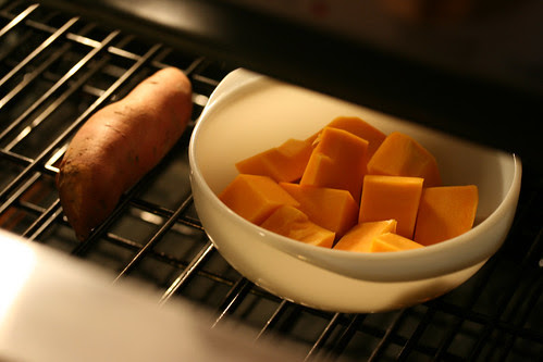 baking squash