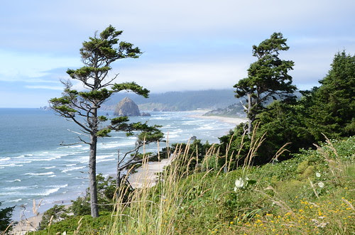 Haystack Rock and Cannon Beach, OR