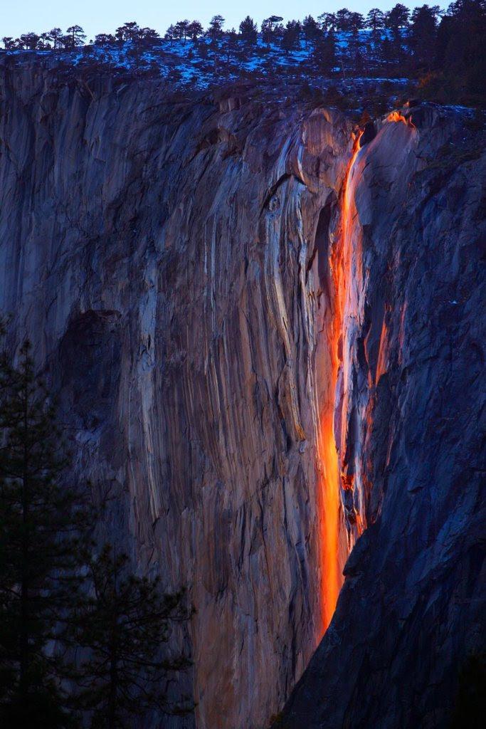 Καταρράκτες Horsetail, Yosemite, ΗΠΑ