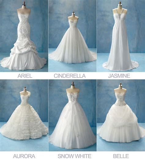 Disney Princesses Wedding Dress Collection by Alfreda