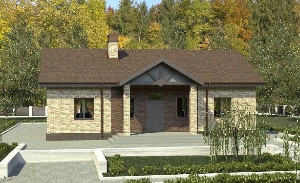Строительство одноэтажного дома