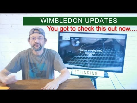 Following Wimbledon -check this out!