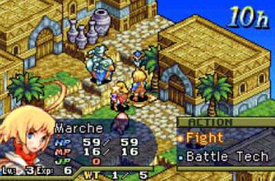 บทสรุป Final Fantasy tactics advance