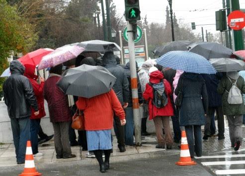 Καιρός: Πού θα βρέχει την Τρίτη - Αναλυτική πρόγνωση