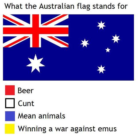 世界各国の国旗の色が象徴していそうな事柄海外の反応暇は無味無臭の劇薬
