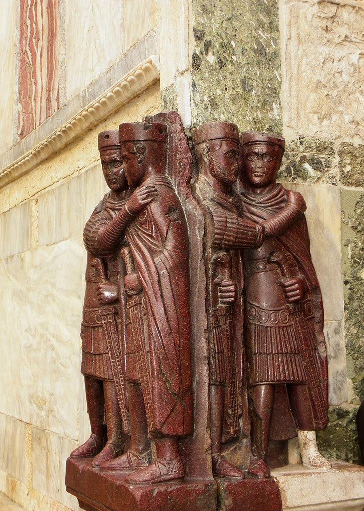 Venice - Tetrarchs On St. Mark's Basilica