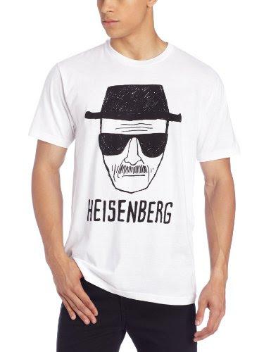 ブレイキング・バッド ハイゼンベルグ スケッチ メンズ ライトウェイト ホワイト Tシャツ | L
