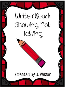 http://www.teacherspayteachers.com/Product/Show-Not-Tell-Lesson-Plan-225883