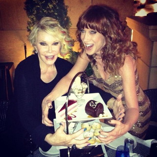 Kathy Griffin e Joan Rivers (Foto: Reprodução/Instagram)