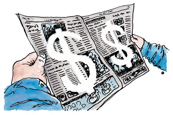 Image result for news and money